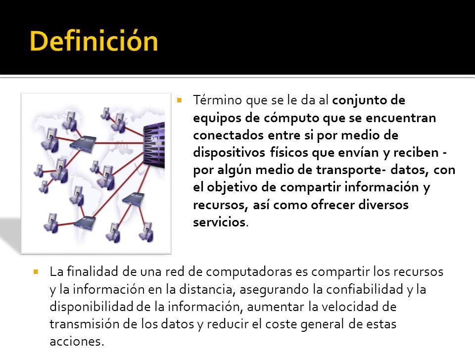 SERVIDOR (server) Es la máquina principal de la red.