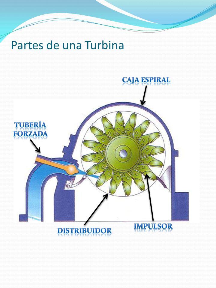 Partes de una Turbina