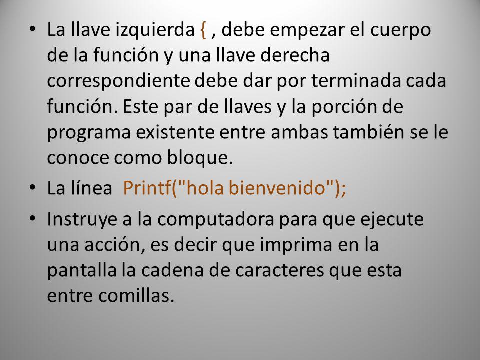 Ahora veremos otro programa sencillo una suma de dos números #include main () { float a, b, suma; printf( ingresa valor de a ); scanf( %f ,&a); printf( ingresa valor del b ); scanf( %f ,&b); suma=(a+b); printf( la suma es %f ,&suma); getch(); }