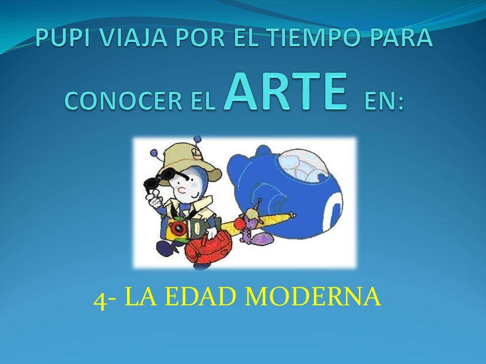ARTE -Durante la Edad Moderna hay tres tipos de arte: *Renacimiento: se copian modelos de la Antigua Grecia y Roma.