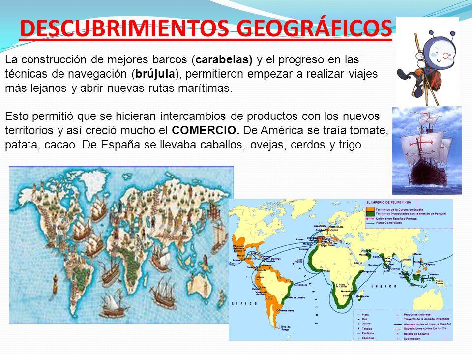 -Gracias al comercio con nuevos territorios los comerciantes y artesanos comienzan a tener mucho dinero y más poder social.