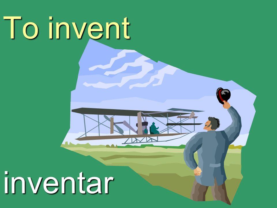 To invent inventar