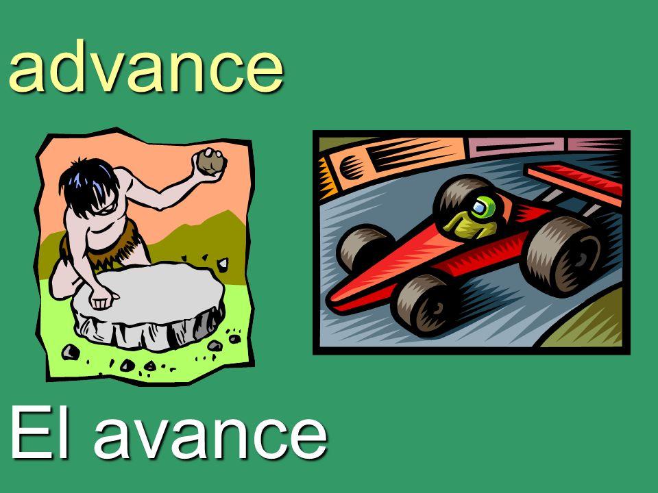 advance El avance