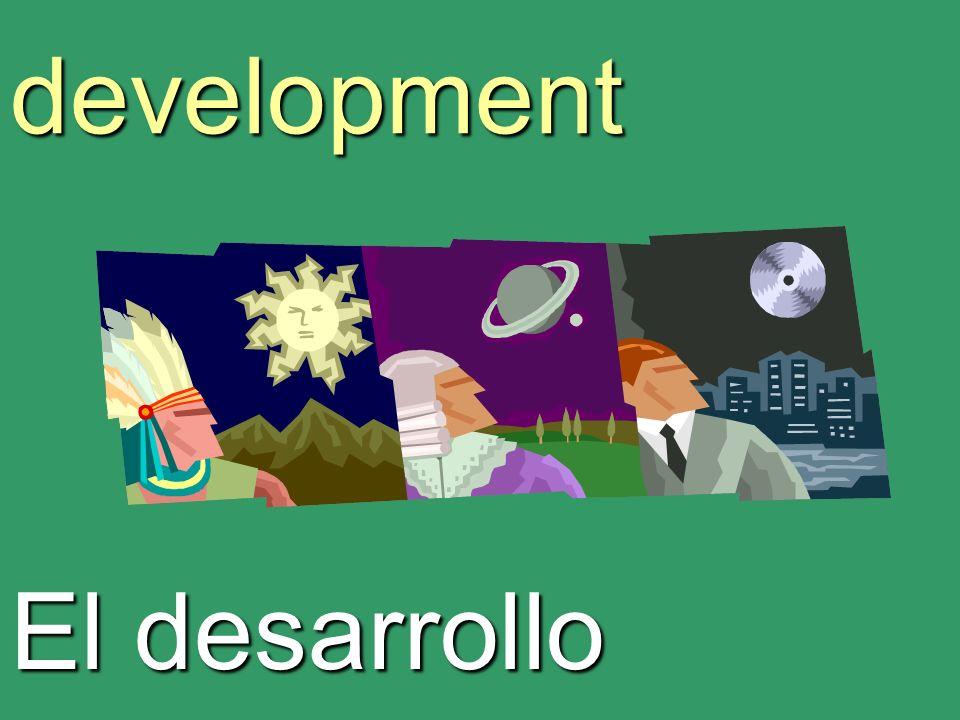 development El desarrollo