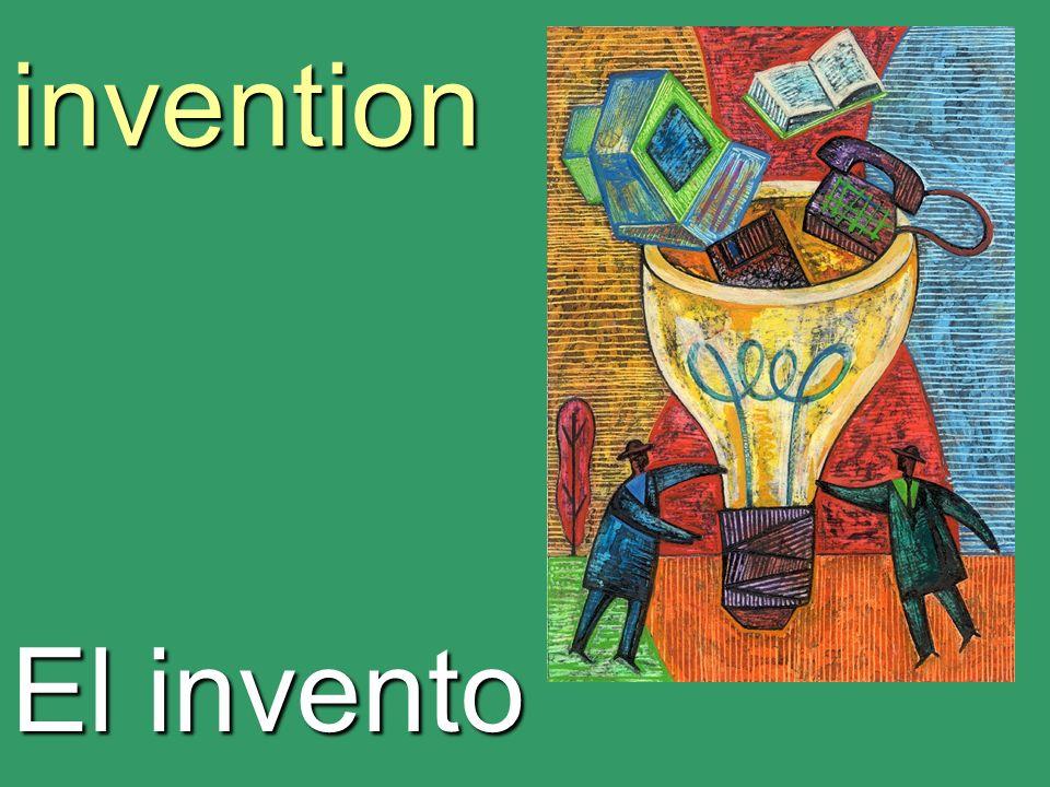 invention El invento