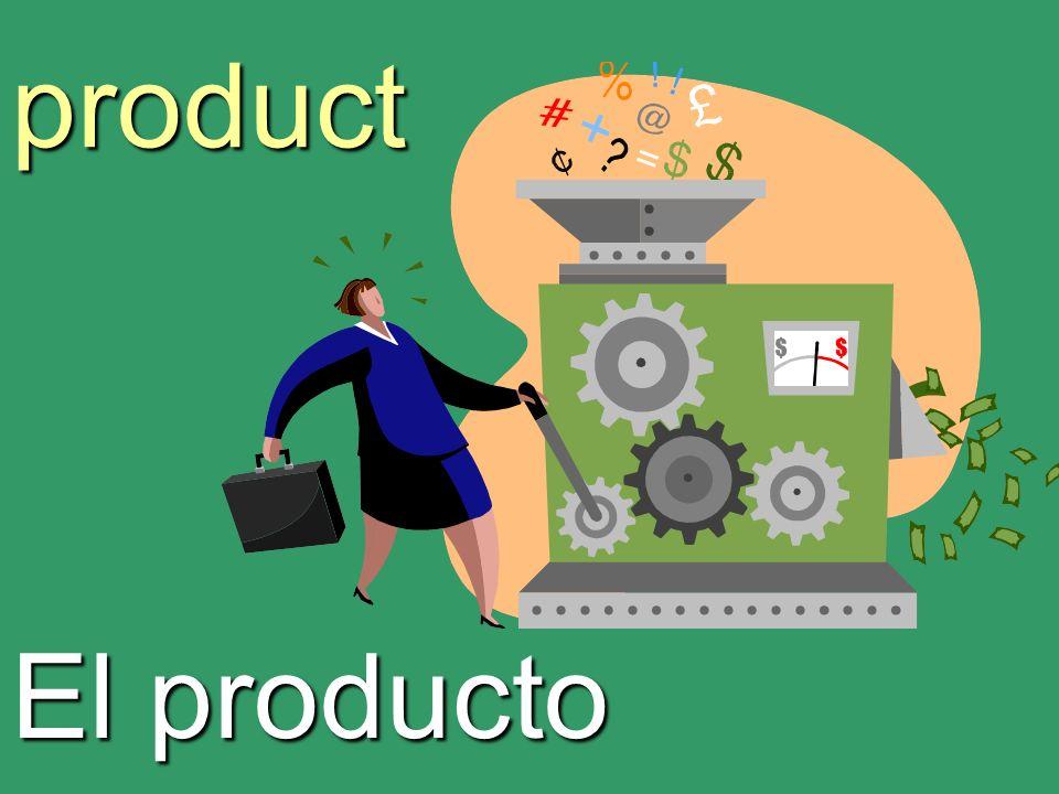 product El producto