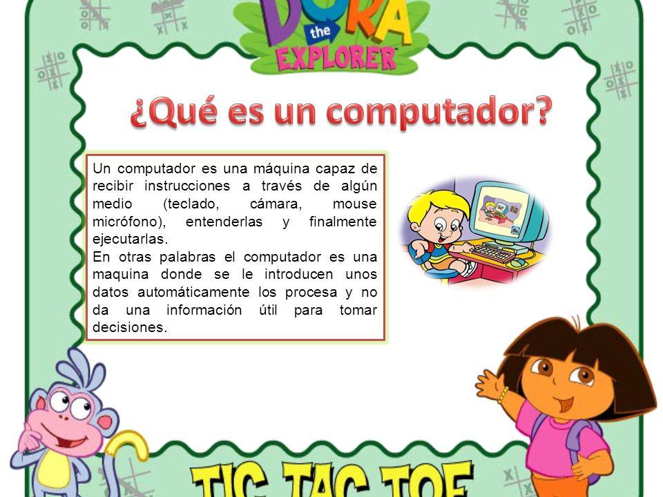 Un computador es una máquina capaz de recibir instrucciones a través de algún medio (teclado, cámara, mouse micrófono), entenderlas y finalmente ejecu