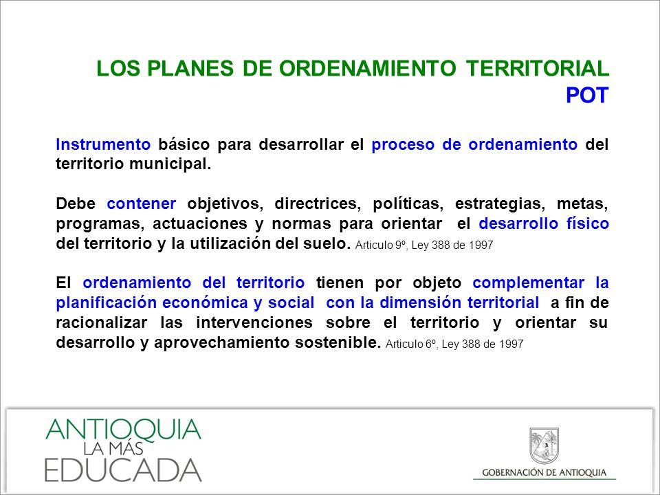PROCESOS DE PLANIFICACION TERRITORIAL DEPARTAMENTALES Plan Regional de Competitividad para Medellín, Valle de Aburrá y Antioquia El Plan Regional de Competitividad recopila las acciones y proyectos identificados con los diferentes entes públicos y privados, y que tiene como fin generar entornos competitivos e innovadores