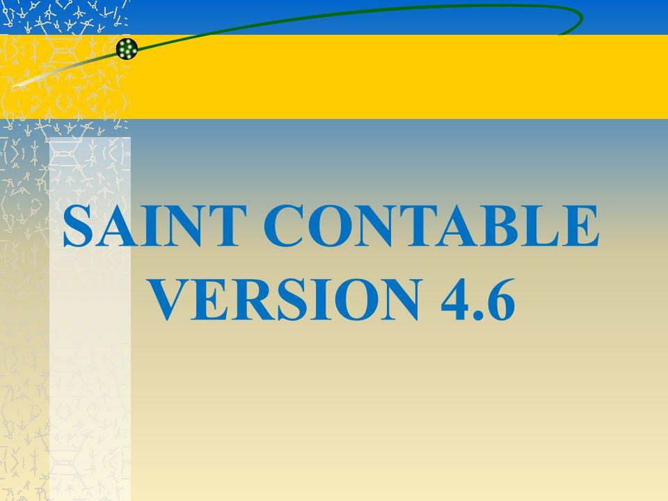 1.PASO: Esta es la pagina de Inicio del programa SAINT contable versión 4.6 se presiona la tecla enter para ingresar al programa