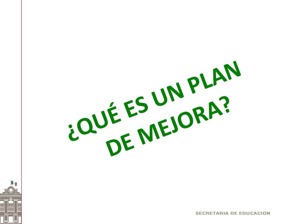 Un Plan de Mejora es un mecanismo que permite identificar nuestras necesidades para luego establecer una serie de actividades que nos permitan obtener mejores resultados.