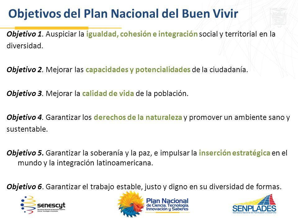 Objetivo 1.Auspiciar la igualdad, cohesión e integración social y territorial en la diversidad.