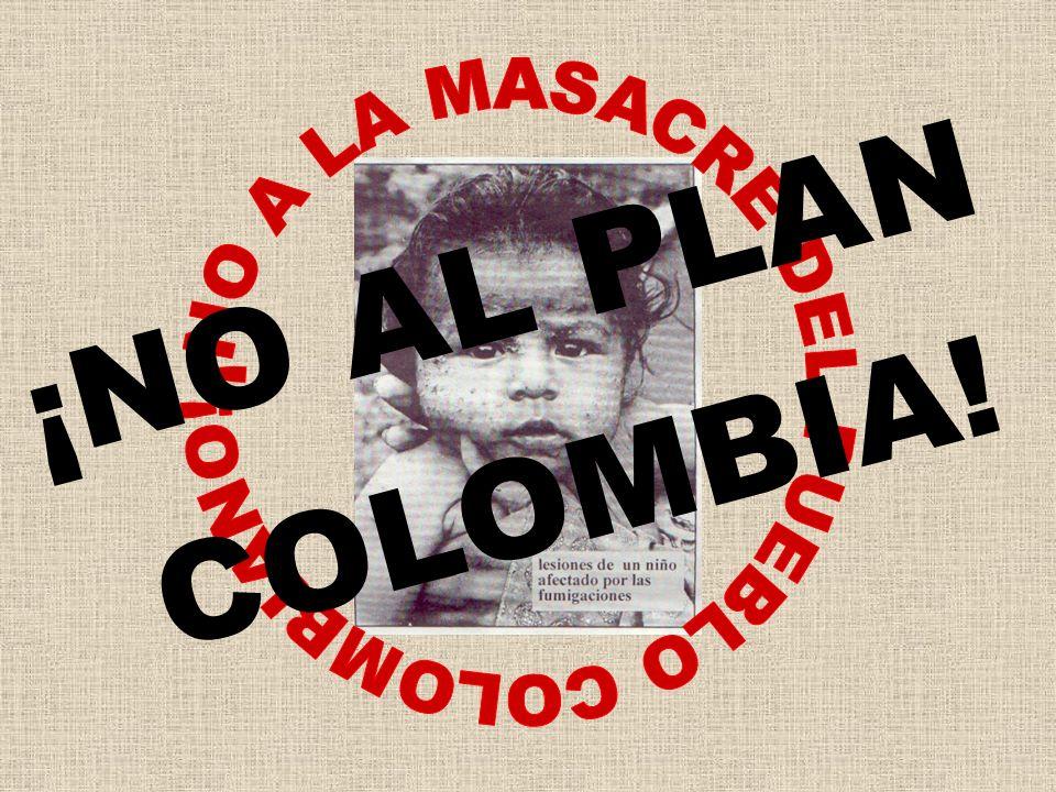 ¡NO AL PLAN COLOMBIA!