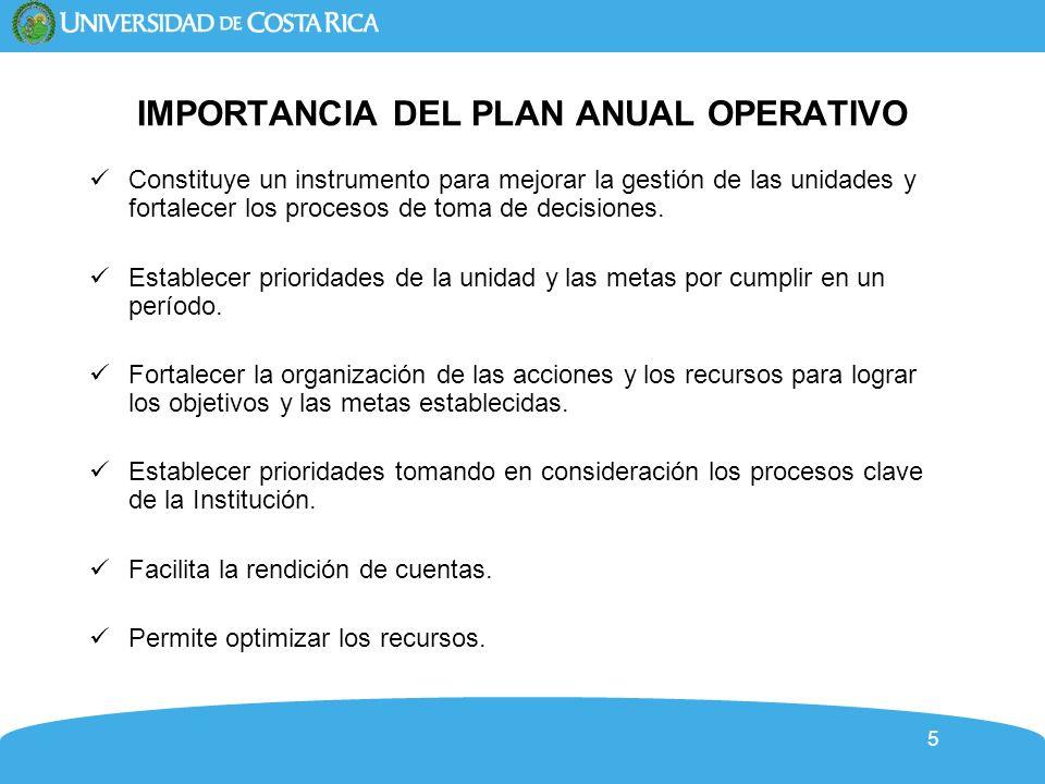 6 Plan-Presupuesto-Evaluación INFORMACIÓN DE CONTEXTO POLÍTICAS C.U.