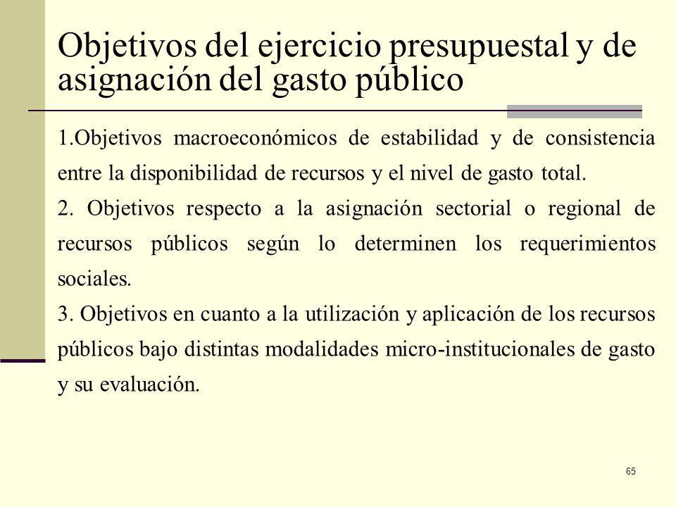 64 Articulo 346 Constitución Política El gobierno formulará anualmente el presupuesto de Rentas y Ley de Apropiaciones que deberá corresponder al Plan