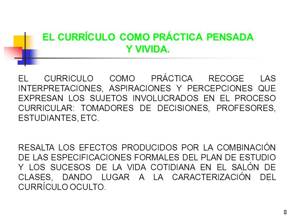 9 -LA EVALUACION EDUCATIVA ASOCIADA A LA MEDICIÓN DE LOS RESULTADOS Y EFECTOS.