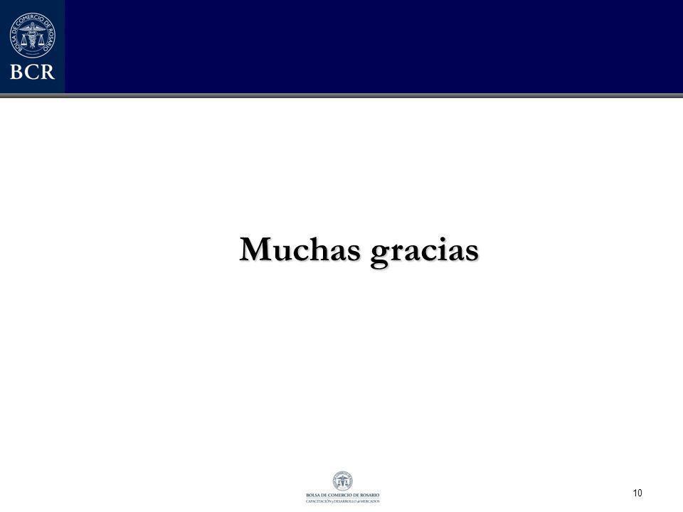 10 Muchas gracias