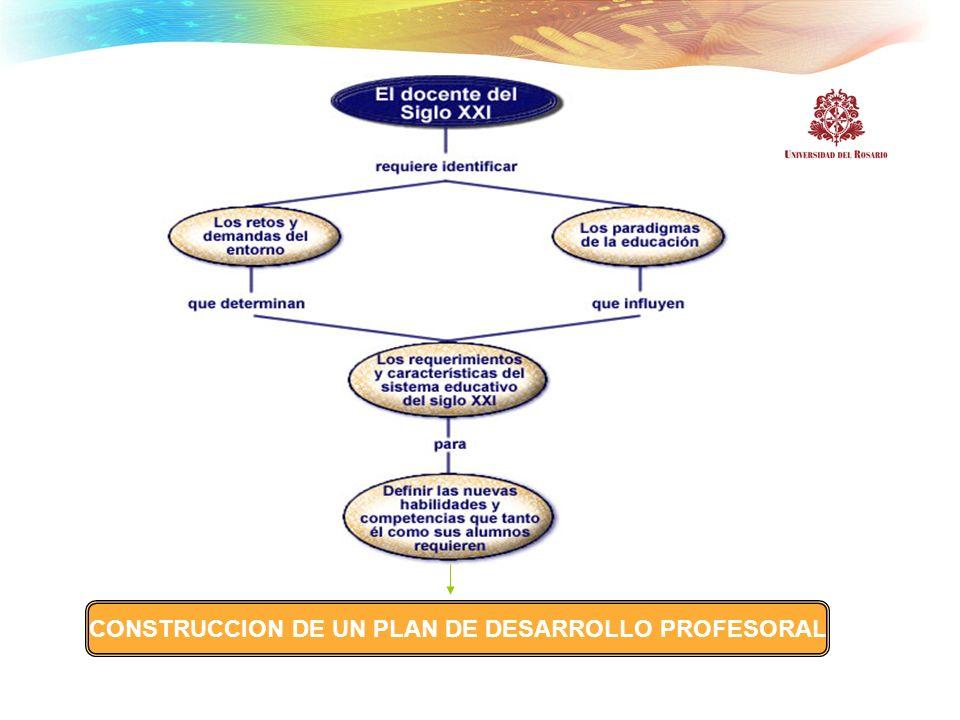 CONSTRUCCION DE UN PLAN DE DESARROLLO PROFESORAL