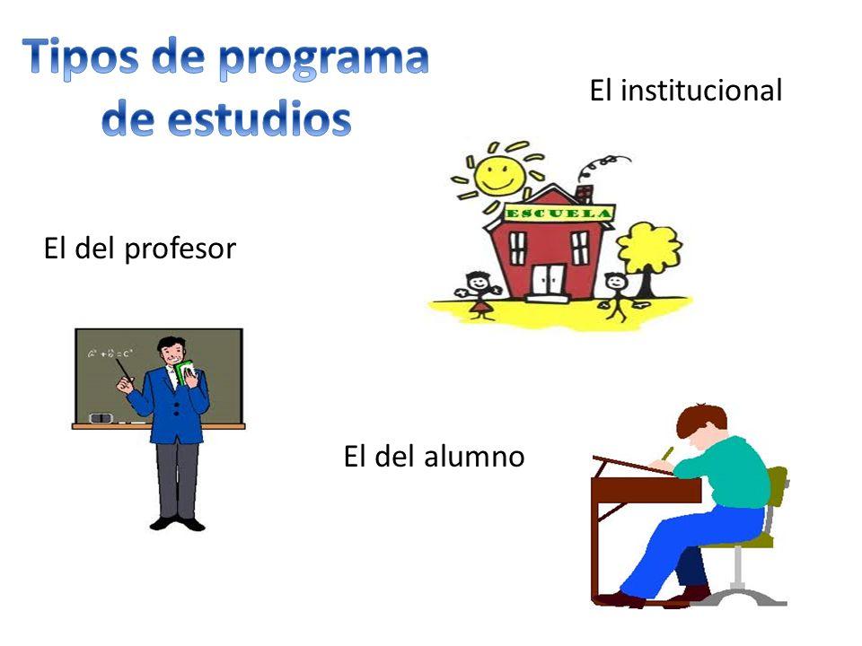contenido básico objetivos generales bibliografía básica Escuelas sin programas institucionales Escuelas en cumplimiento del programa al pie de la letra