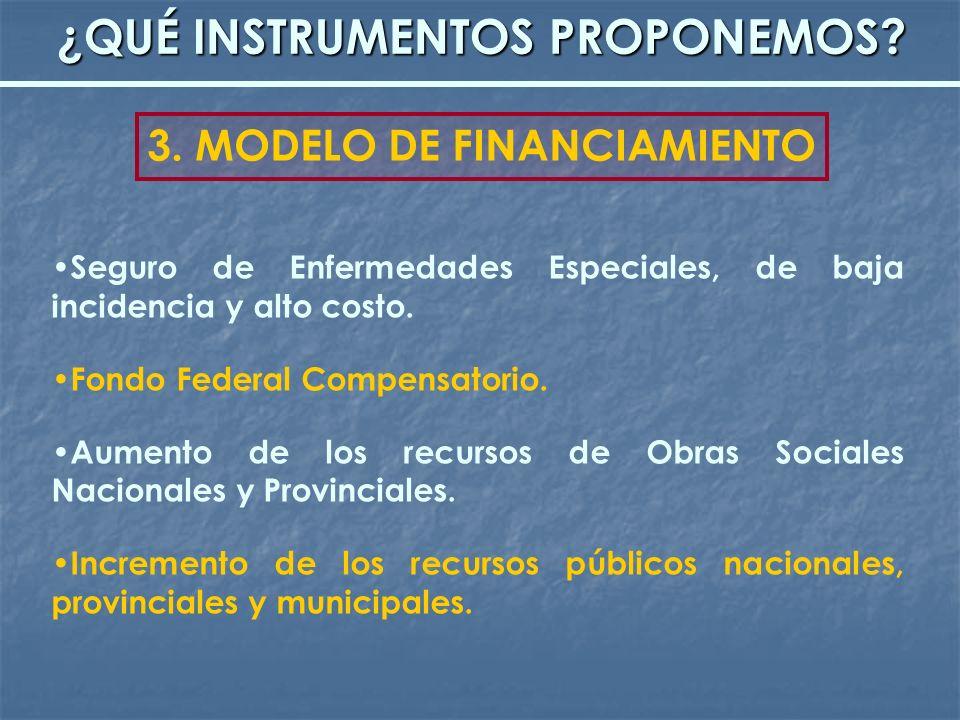 Seguro de Enfermedades Especiales, de baja incidencia y alto costo. Fondo Federal Compensatorio. Aumento de los recursos de Obras Sociales Nacionales