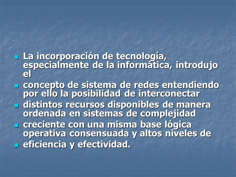 La incorporación de tecnología, especialmente de la informática, introdujo el La incorporación de tecnología, especialmente de la informática, introdu
