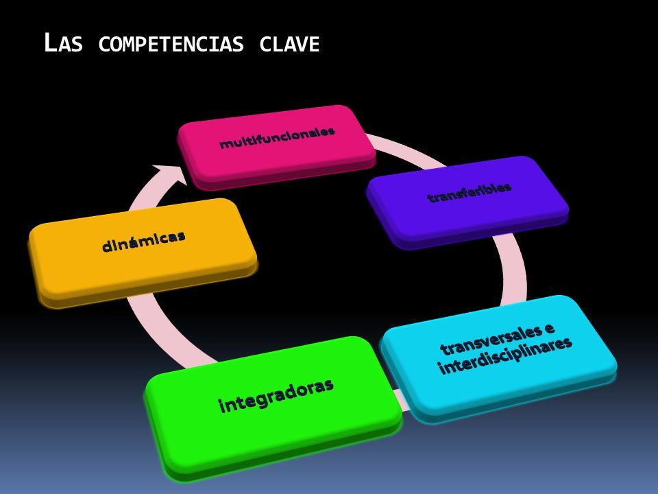 L AS COMPETENCIAS CLAVE