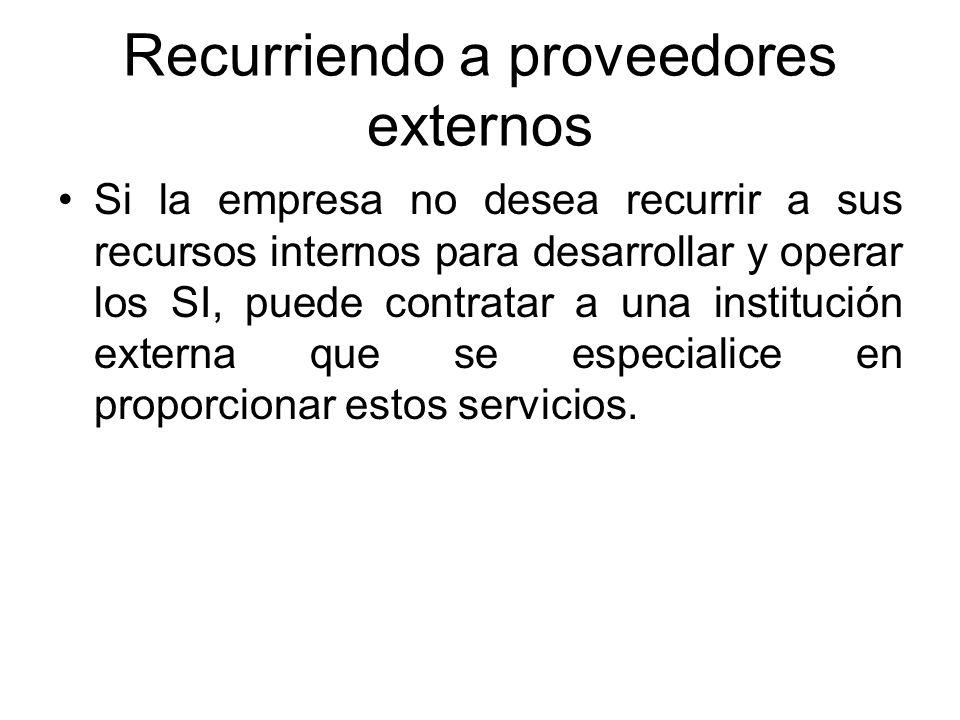 Administración del desarrollo por usuarios finales Uso de Centros de información. Un centro de información es una unidad dentro de la organización que