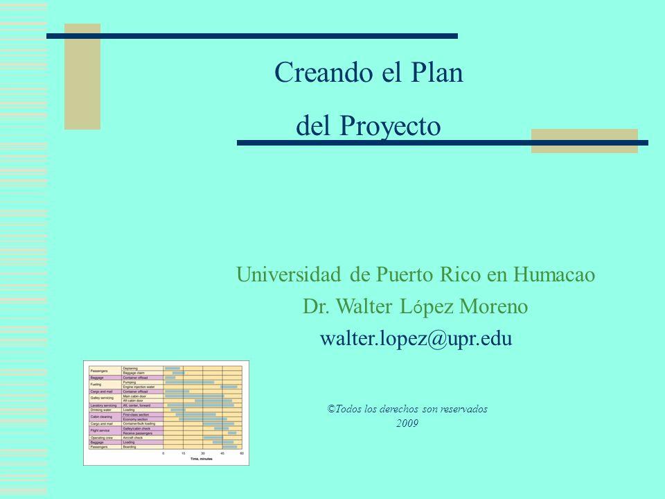 Table of Content Componente de Planificación Itinerarios y Control de Proyectos Definiendo el Proyecto Organización del Proyecto y el Coordinador Meta del Plan Objetivos del Plan Actividades del Plan Recursos Marco de Tiempo Indicadores de Avalúo Dinámica de Grupos Referencias