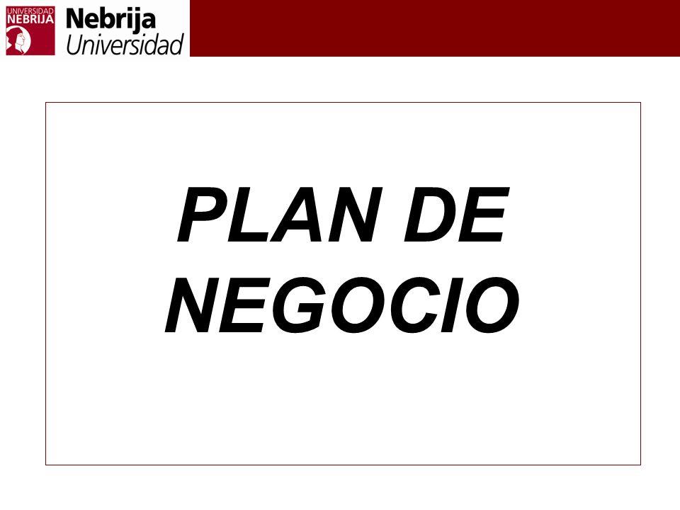 PLAN DE NEGOCIO PLAN DE NEGOCIO