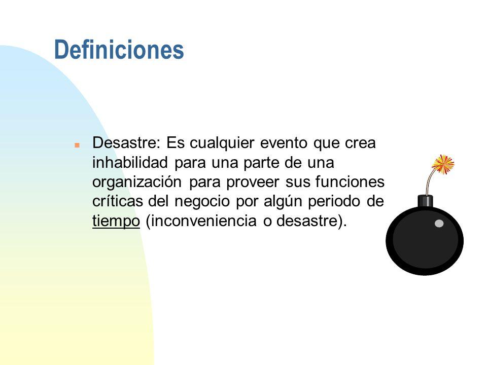 Áreas de conocimiento base del DRI 1. Administración e iniciación del proyecto 2. Evaluación de riesgos y controles 3. Análisis de Impacto del negocio
