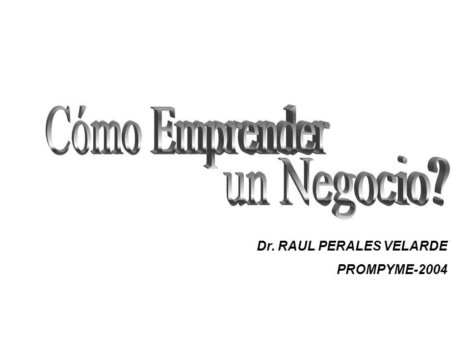 Dr. RAUL PERALES VELARDE PROMPYME-2004