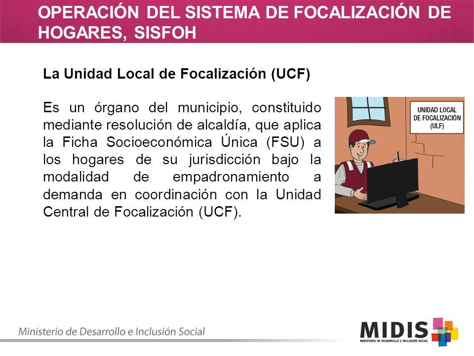 Marco Normativo Normatividad del SISFOH –Resolución Ministerial N° 399-2004-PCM, que creó el Sistema de Focalización de Hogares.