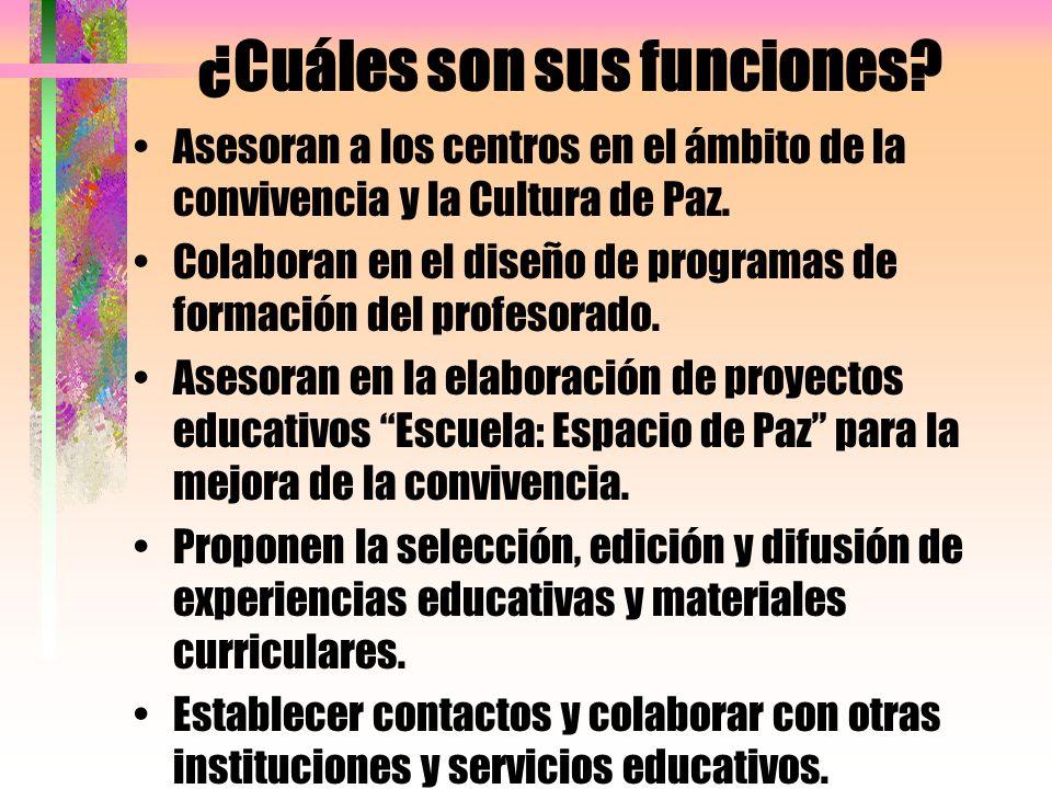 Recursos que se ofrecen 1 Formación para los sectores de la Comunidad Educativa.