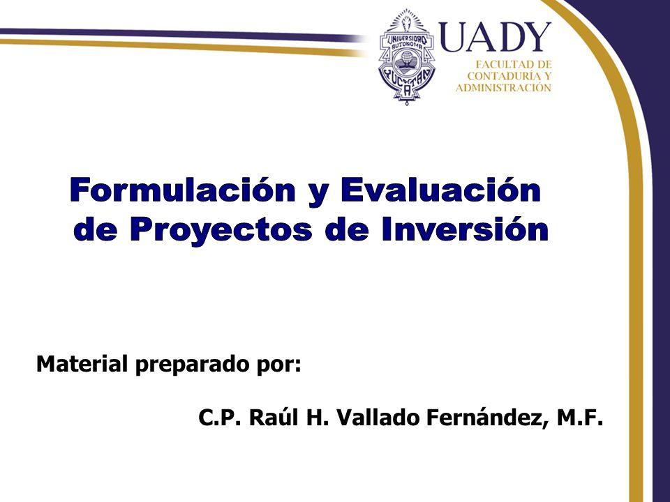 Rhvf. Material preparado por: C.P. Raúl H. Vallado Fernández, M.F.