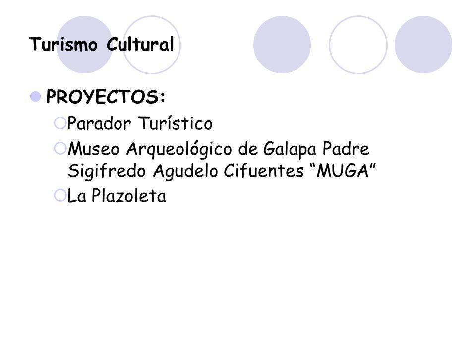 Turismo Cultural PROYECTOS: Parador Turístico Museo Arqueológico de Galapa Padre Sigifredo Agudelo Cifuentes MUGA La Plazoleta