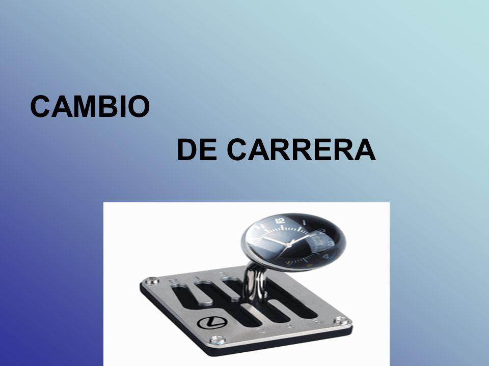 CAMBIO DE CARRERA