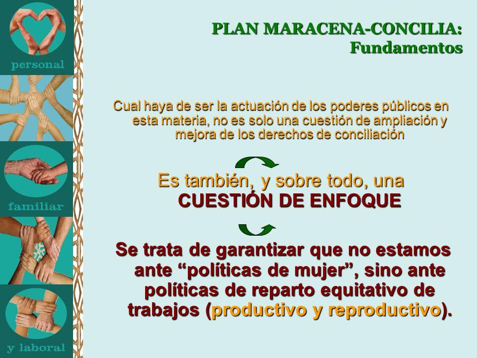 PLAN MARACENA-CONCILIA: Refuerzos para su continuidad Convenio de Colaboración: Instituto Andaluz de la Mujer y Ayuntamiento de Maracena en materia de conciliación (28-10-2009) Convenio de Colaboración: Instituto Andaluz de la Mujer y Ayuntamiento de Maracena en materia de conciliación (28-10-2009) Ejemplo de Buenas Prácticas: Subproyecto DIVERSIA (PEOPLE) Ejemplo de Buenas Prácticas: Subproyecto DIVERSIA (PEOPLE)