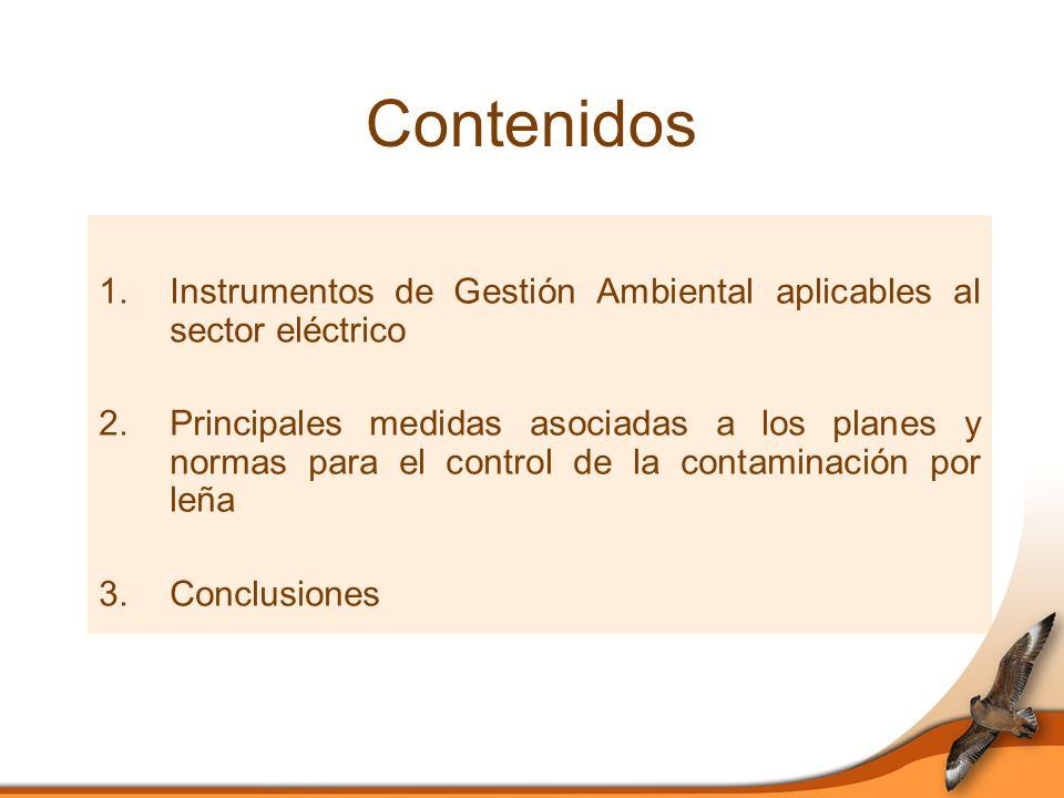1.Instrumentos de Gestión Ambiental 1.1. Sistema de Evaluación de Impacto Ambiental (SEIA) 1.2.