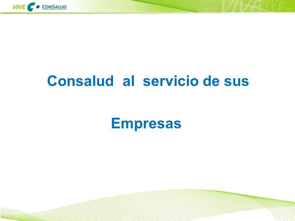 25 Consalud al servicio de sus Empresas