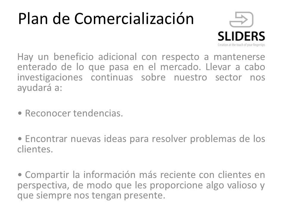 Plan de Comercialización Canales de venta: Casual : enfocado a los Usuarios.