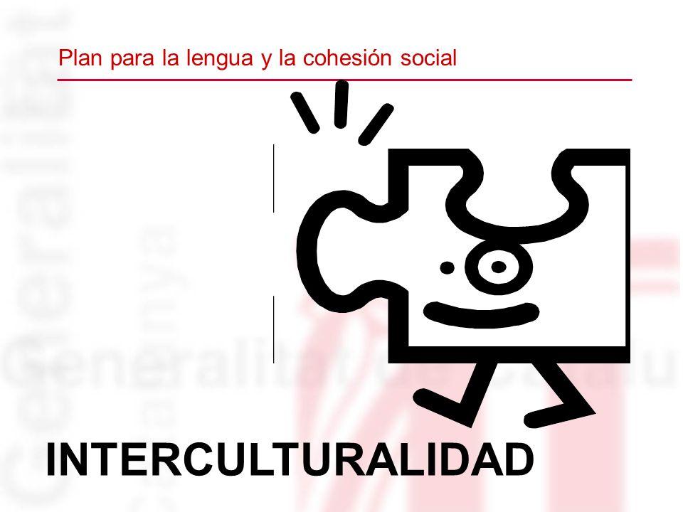 INTERCULTURALIDAD Plan para la lengua y la cohesión social