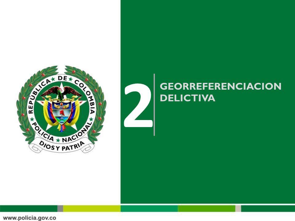 GEORREFERENCIACION DELICTIVA 2