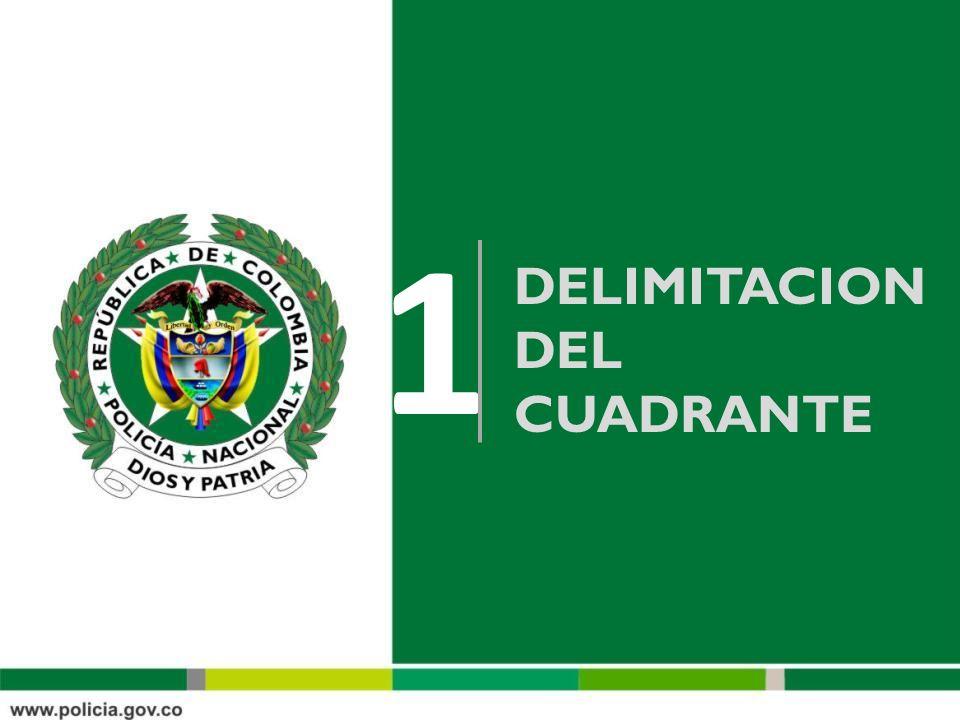 DELIMITACION DEL CUADRANTE 1