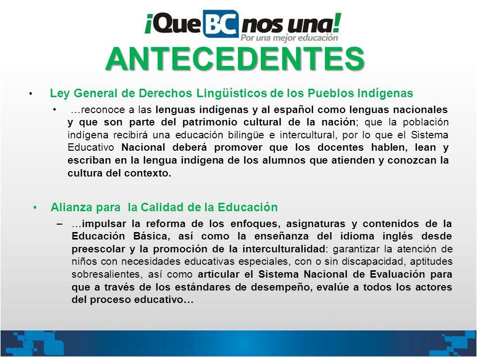 Ley General de Derechos Lingüísticos de los Pueblos Indígenas …reconoce a las lenguas indígenas y al español como lenguas nacionales y que son parte d