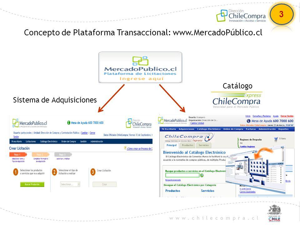 www.chilecompra.cl COMO OFERTAR 1.Ingrese a: www.mercadopublico.clwww.mercadopublico.cl 2.