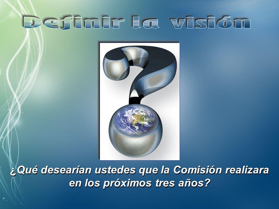 Definir la visión de la Comisión JPIC Identificar los obstáculos a la visión Señalar algunas direcciones estratégicas Definir la visión de la Comisión JPIC Identificar los obstáculos a la visión Señalar algunas direcciones estratégicas