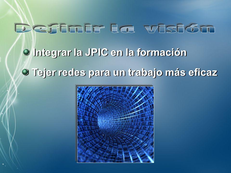 1.Promover la centralidad de la JPIC 2. Favorecer la preparación profesional 3.