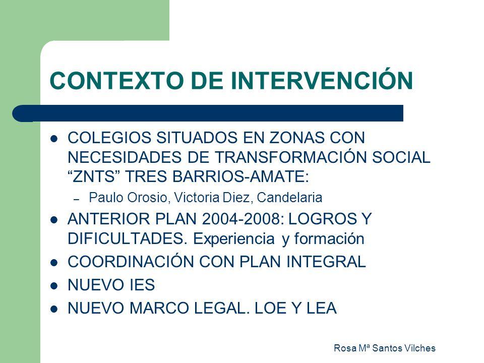 Rosa Mª Santos Vilches PROPUESTA PARA EL DESFASE CURRICULAR ESTE CURSO: (09/10) LIBRE DISPOSICIÓN Y PROYECTOS INTEGRADOS SON ASUMIDOS POR DEPARTAMENTOS.