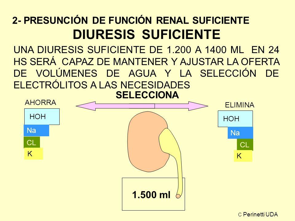 RITMO DEL REEMPLAZO B Con perdidas basales el ritmo de perfusión será uniforme para 24 horas.