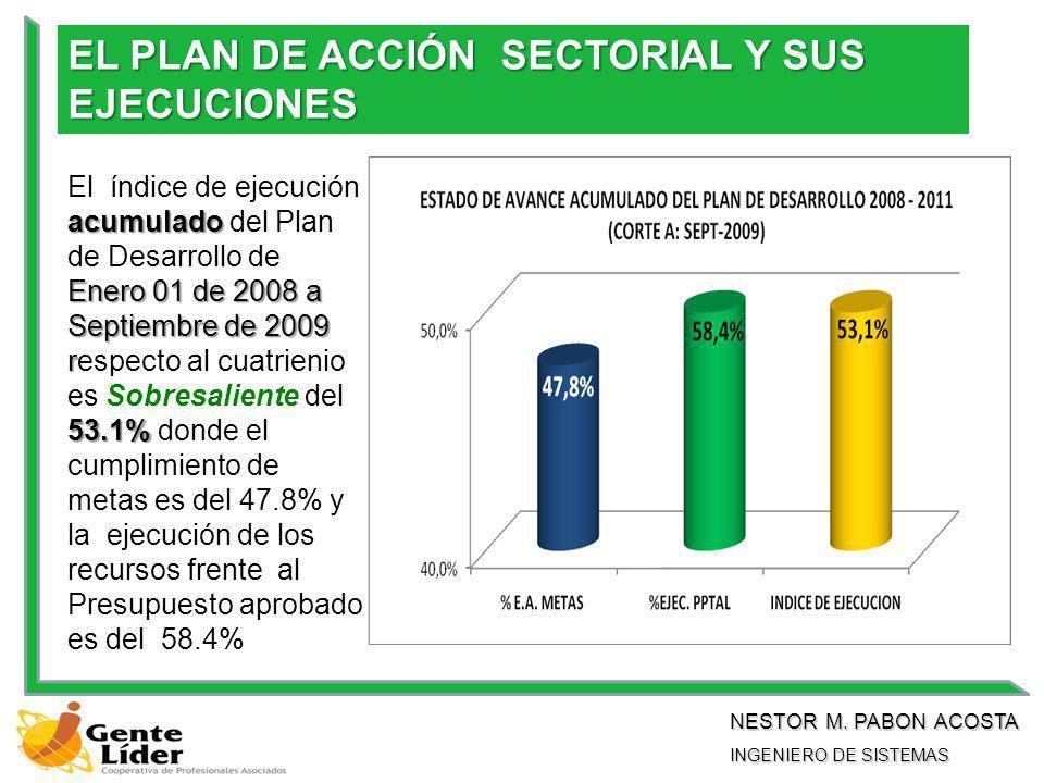 EL PLAN DE ACCIÓN SECTORIAL Y SUS EJECUCIONES NESTOR M.