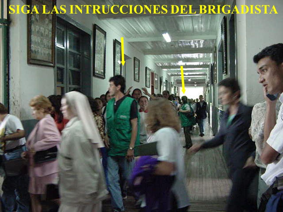 lEs el grupo de estudiantes encargados de dirigir y controlar la evacuación por las rutas de escape desde el inicio de la activación de las alarmas hasta la salida de la ultima persona.